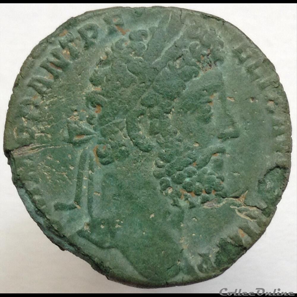 monnaie antique romaine commode sesterce p m tr p xv imp viii cos vii pp ric 557