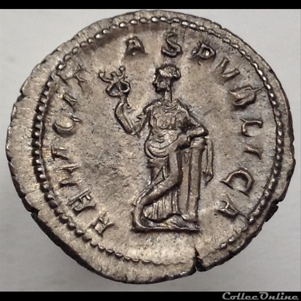 monnaie antique romaine julia mamee denier felicitas pvblica ric 335