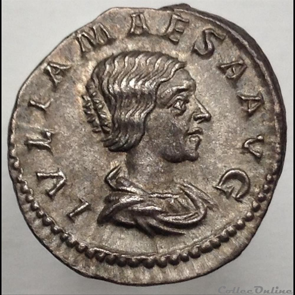 monnaie antique romaine julia maesa denier saecvli felicitas ric 272