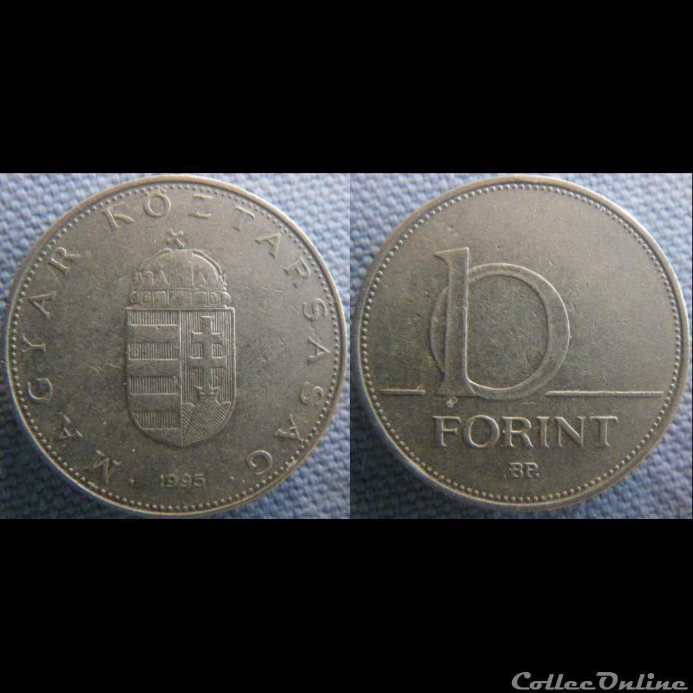 monnaie monde hongrie 10 forint 1995