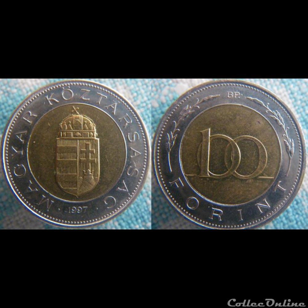 monnaie monde hongrie 100 forint 1997