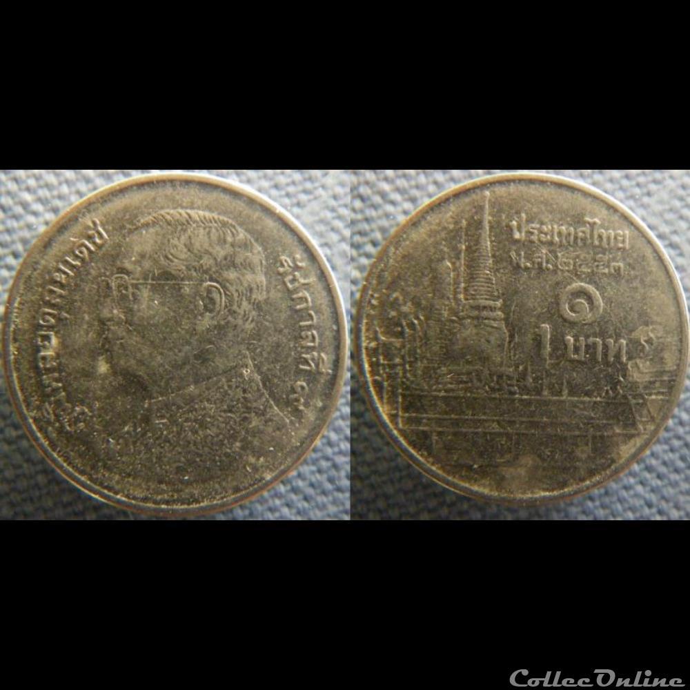 1 Baht 2010 Münzen Münzen Aus Aller Welt 1790 Thailand