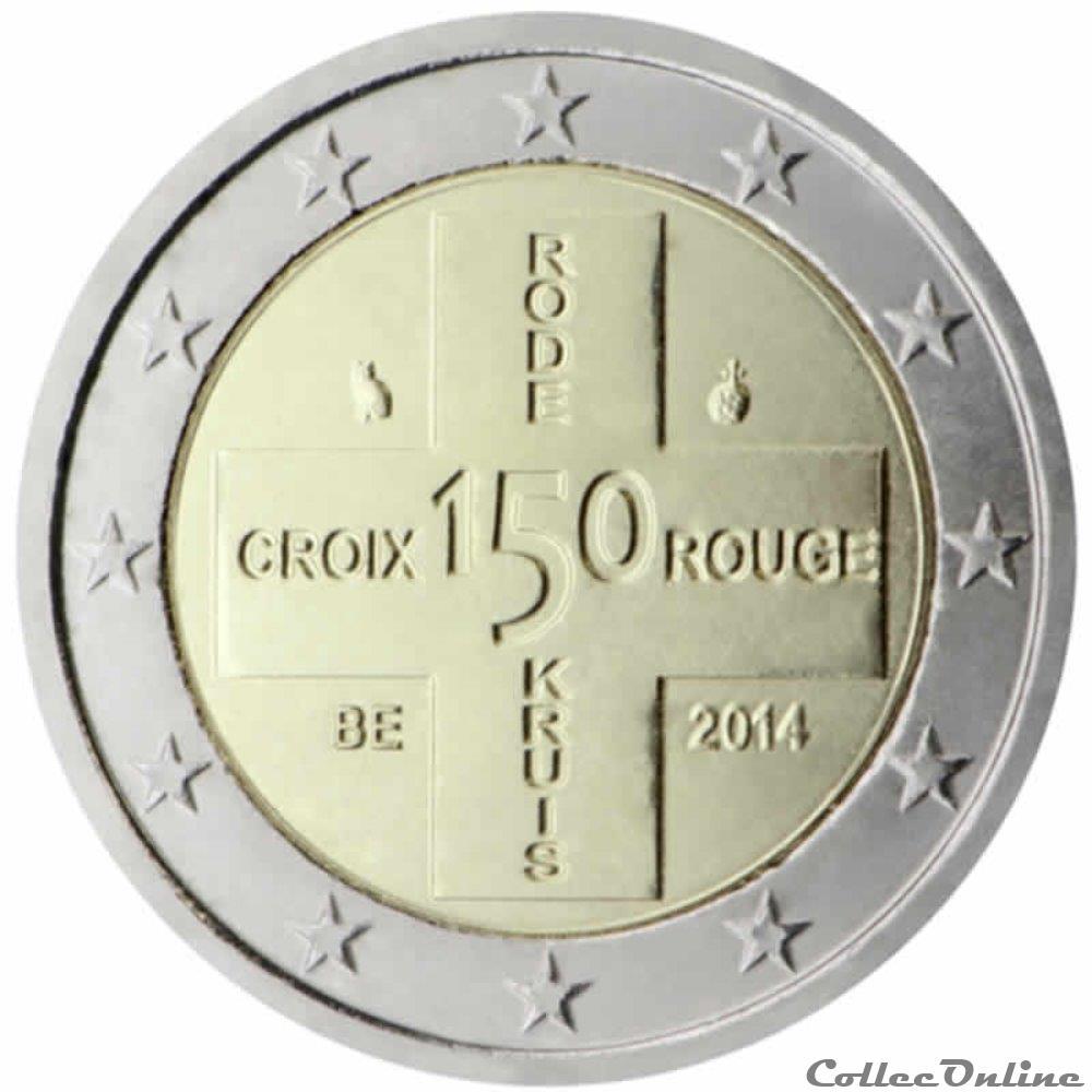 monnaie 2 euro belgique 2014