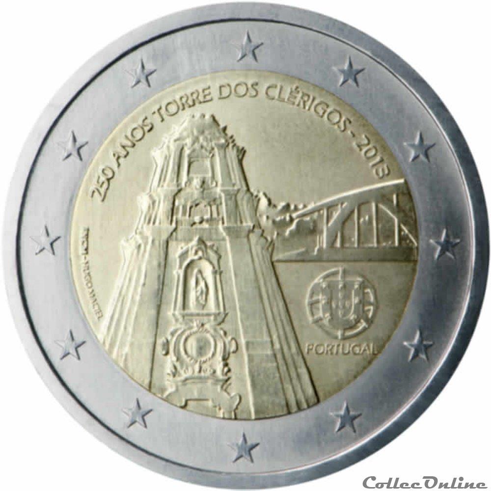 monnaie 2 euro portugal 2013