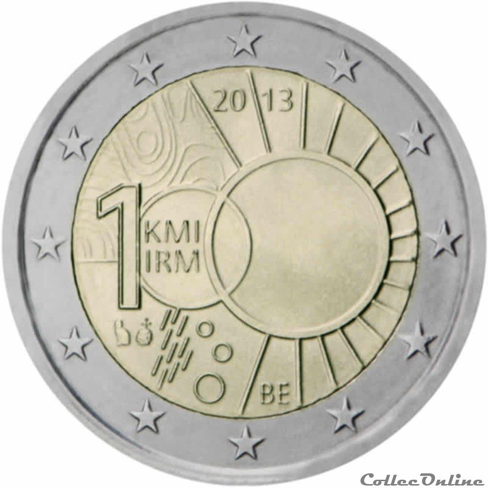 monnaie 2 euro belgique 2013