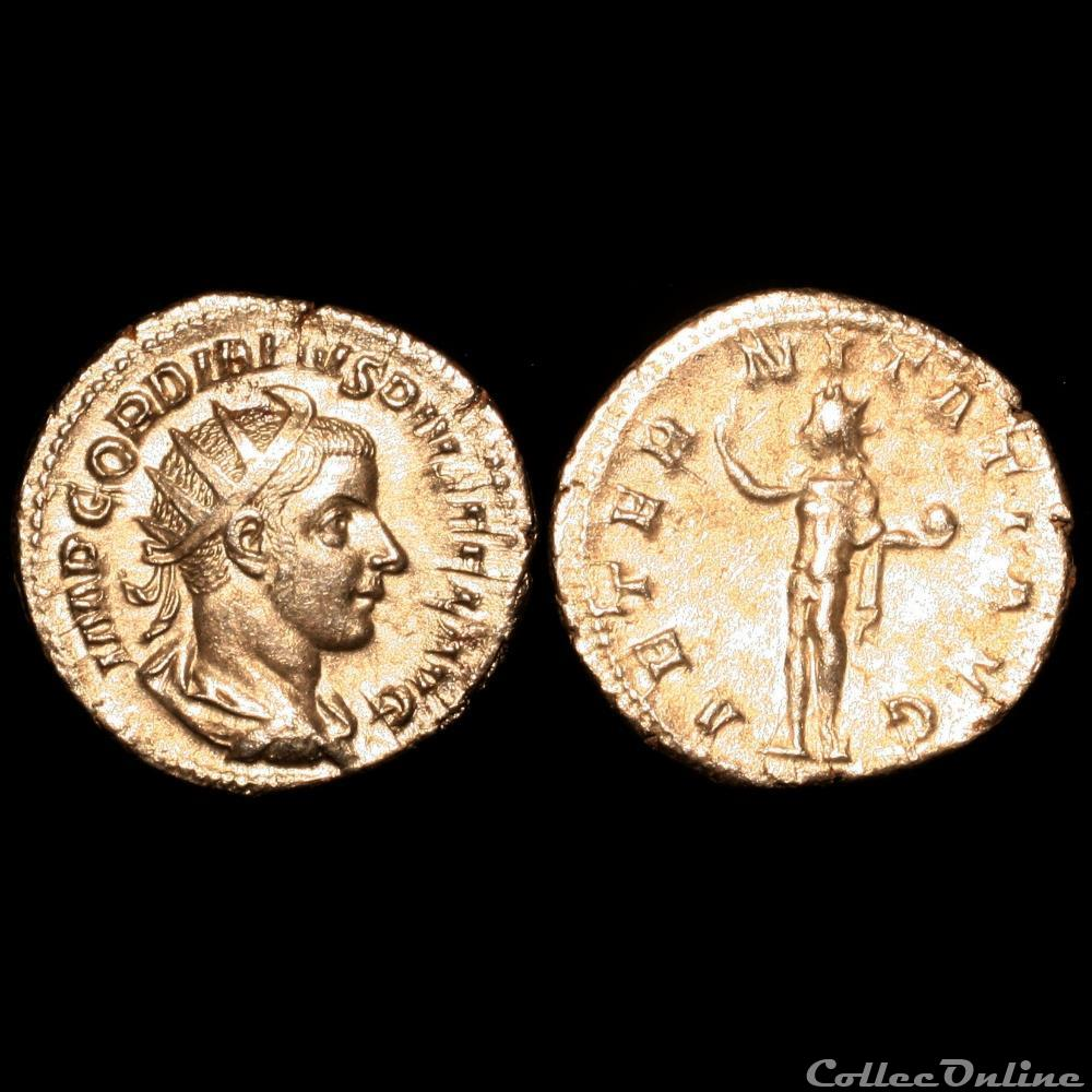 monnaie antique romaine gordien iii antoninien 240 243 rome 1er officine