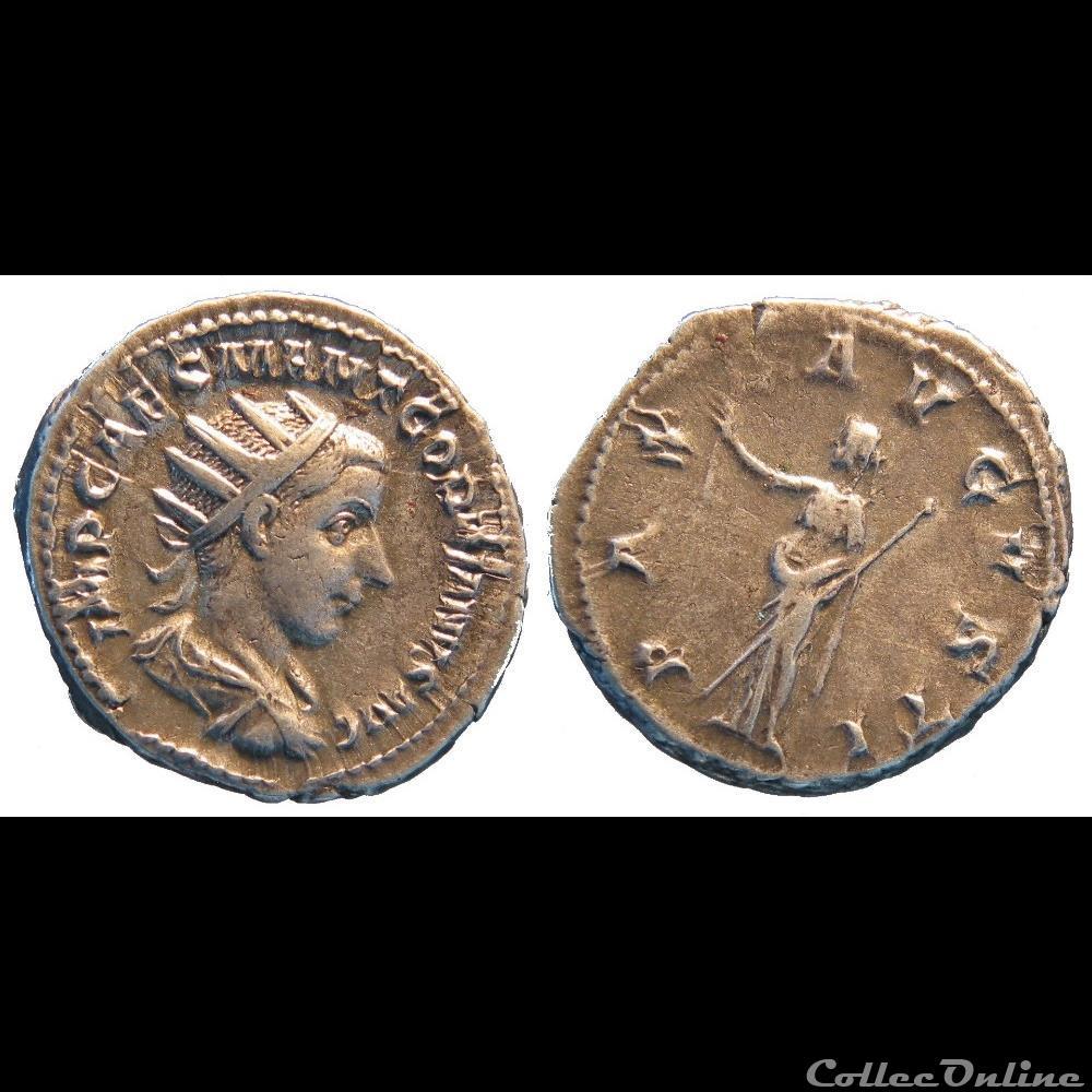 monnaie antique jc ap romaine antoninien 1ere emission pax avgvsti