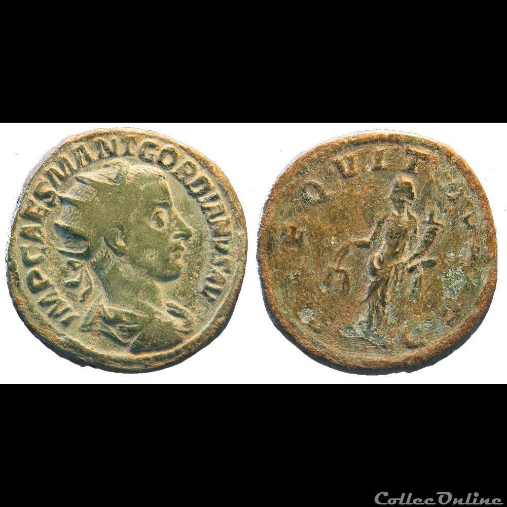 monnaie antique romaine dupondius 3e emission 1ere phase aeqvitas avg
