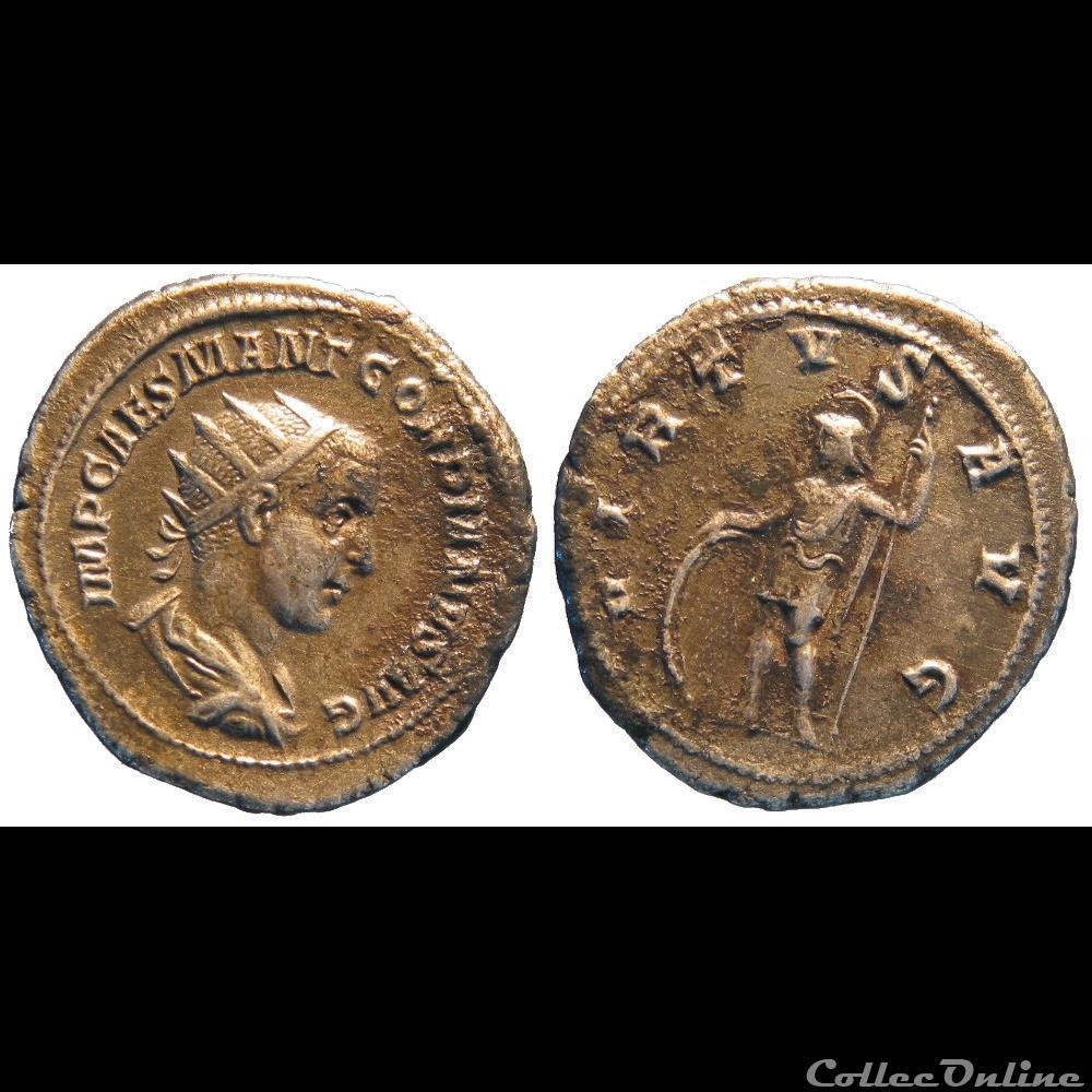 monnaie antique jc ap romaine antoninien 1ere emission virtvs avg