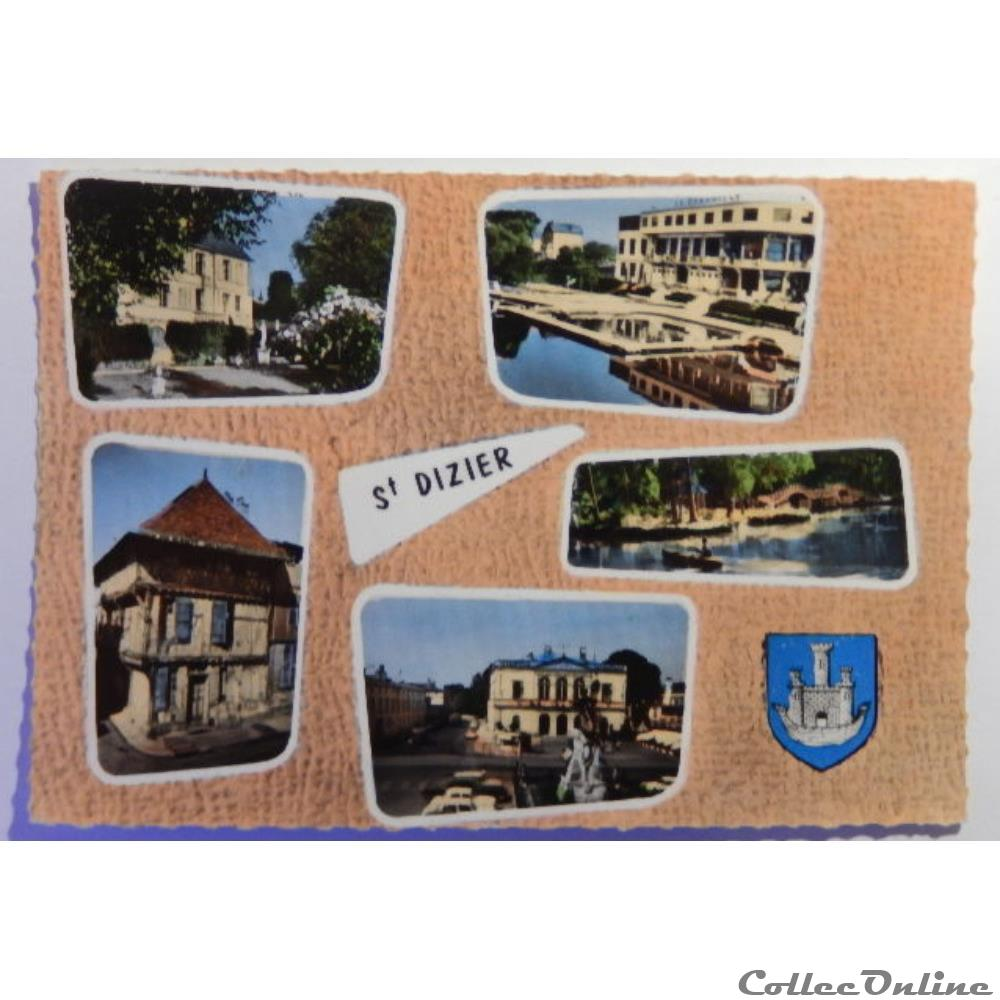 carte postale france champagne ardenne cpa de haute marne saint dizier