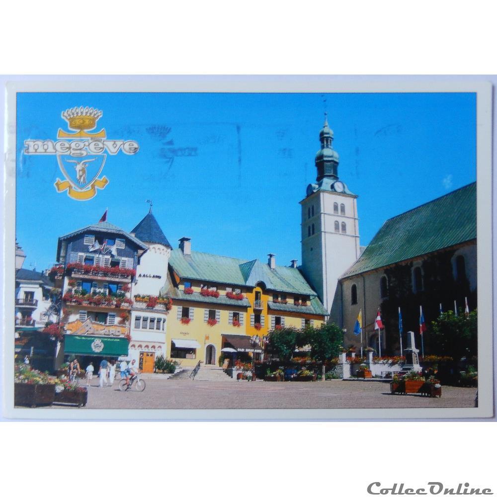 carte postale france rhone alpe cp de haute savoie megeve