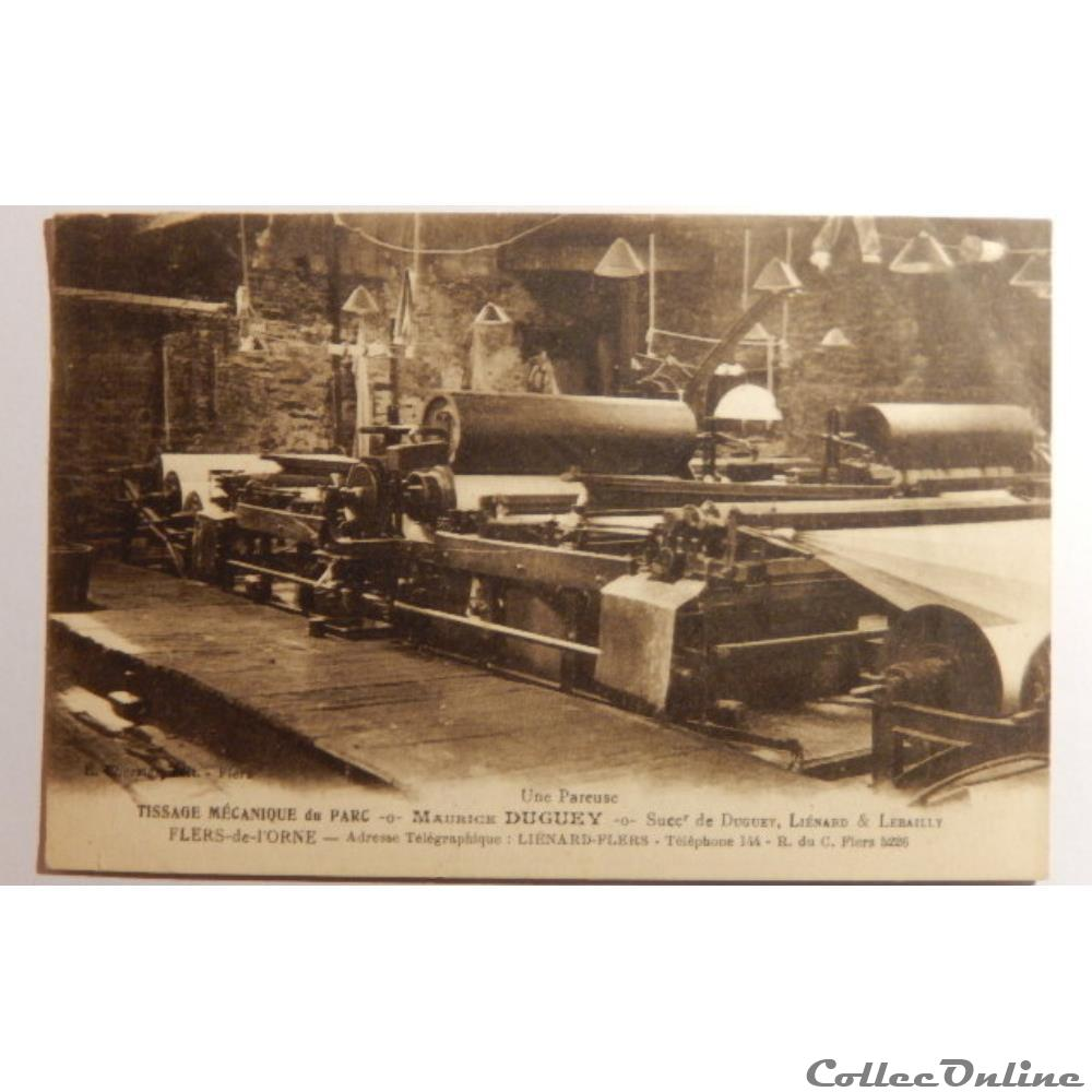 carte postale france basse normandie cpa de orne flers de orne
