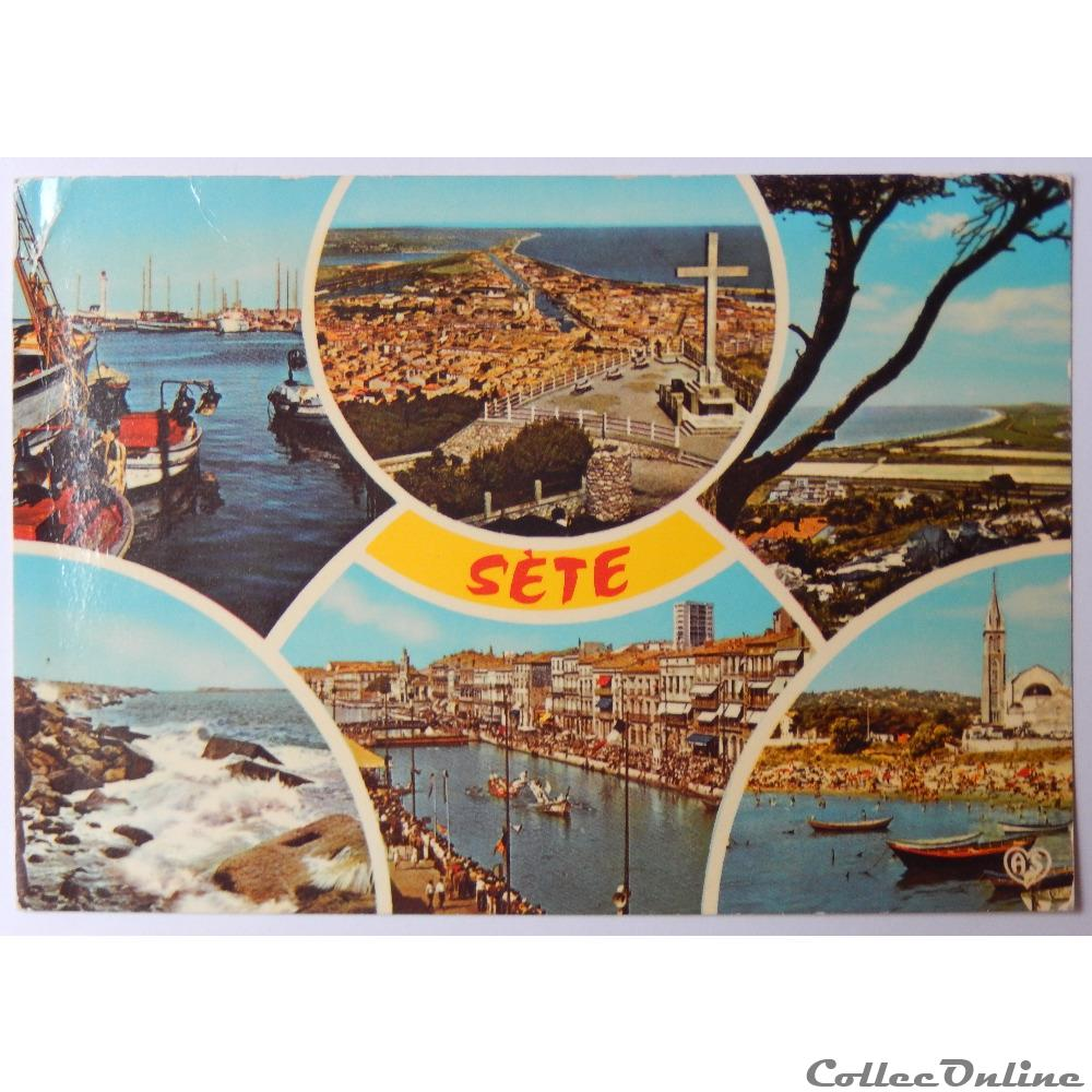 CP de l'Hérault, Sète : Cartes Postales, France, Languedoc ...