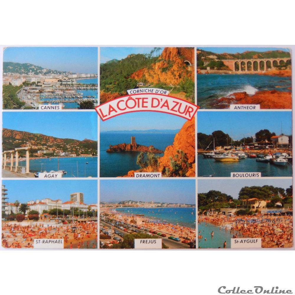 CP de la côte d'Azur : Cartes Postales, France, Provence, Côte-d'Azur...