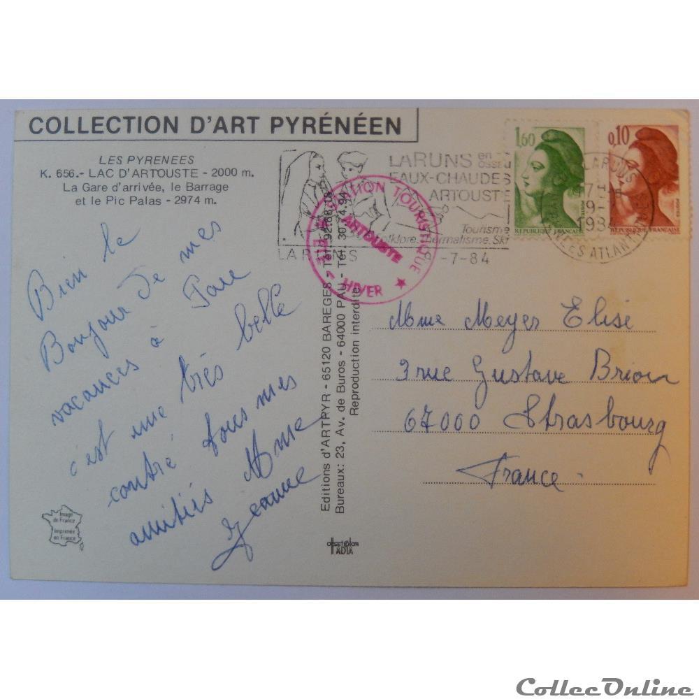 Cp Des Pyrenees Atlantiques Lac D Artouste Cartes Postales France
