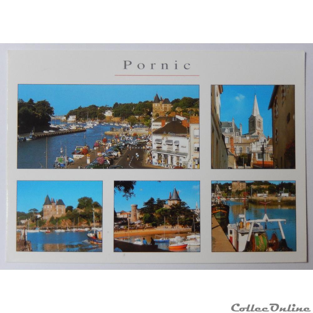 carte postale france pay cp de loire atlantique pornic