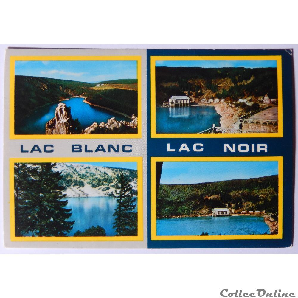 Carte Lacs Alsace.Cp Du Haut Rhin Les Lacs Blanc Et Noir Cartoline Francia