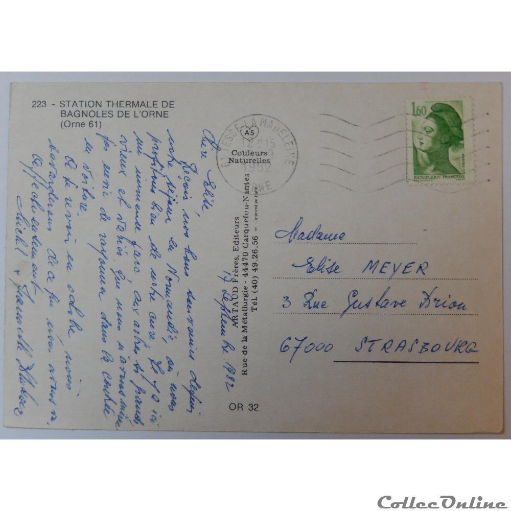 CP de l'Orne, Bagnoles de l'Orne : Cartes Postales, France
