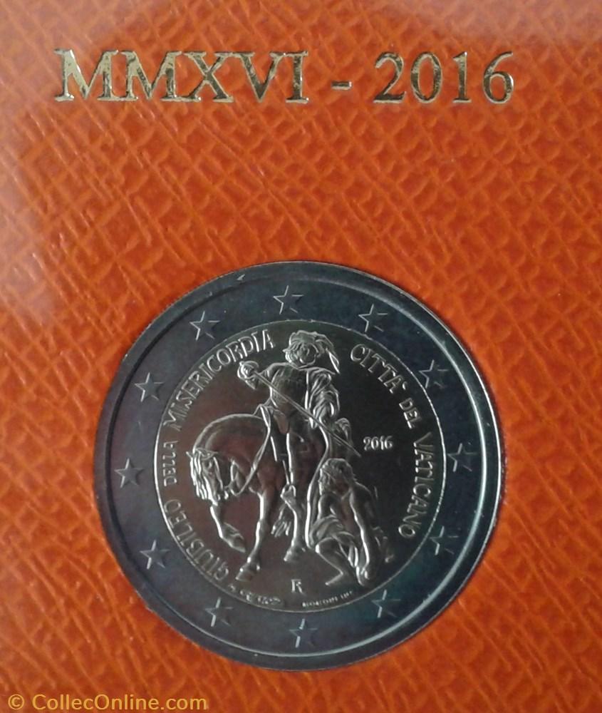monnaie euro a vatican 2 cn 2016 2