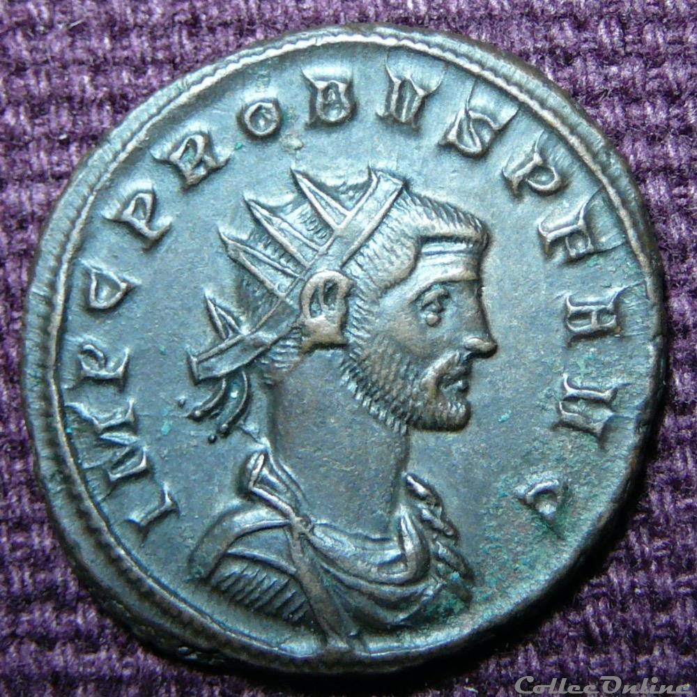 monnaie antique av jc ap romaine probus siscia ric 733 var c inedit