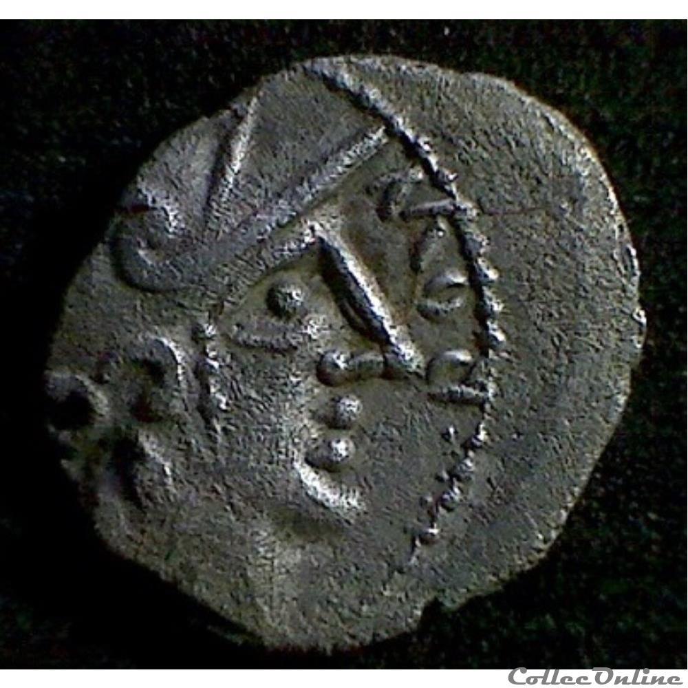 monnaie antique gauloise serie 869 dt 3154 denier au cavalier rovv cal