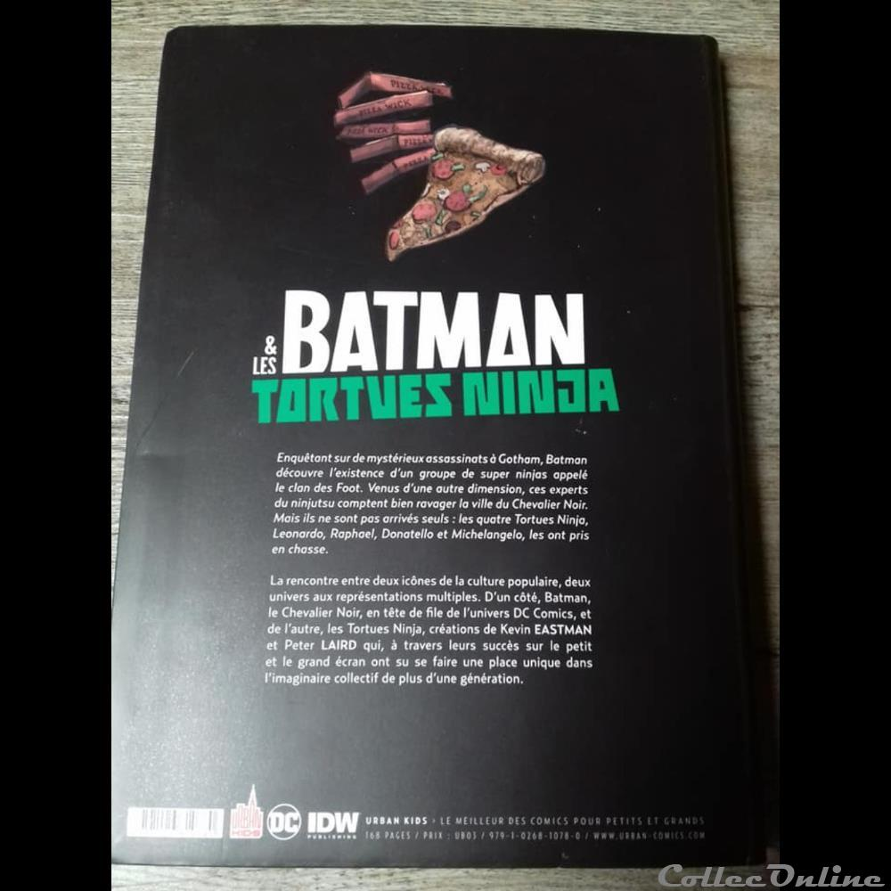 Batman Les Tortues Ninja Comics Amere Pizza Tome 1 Books