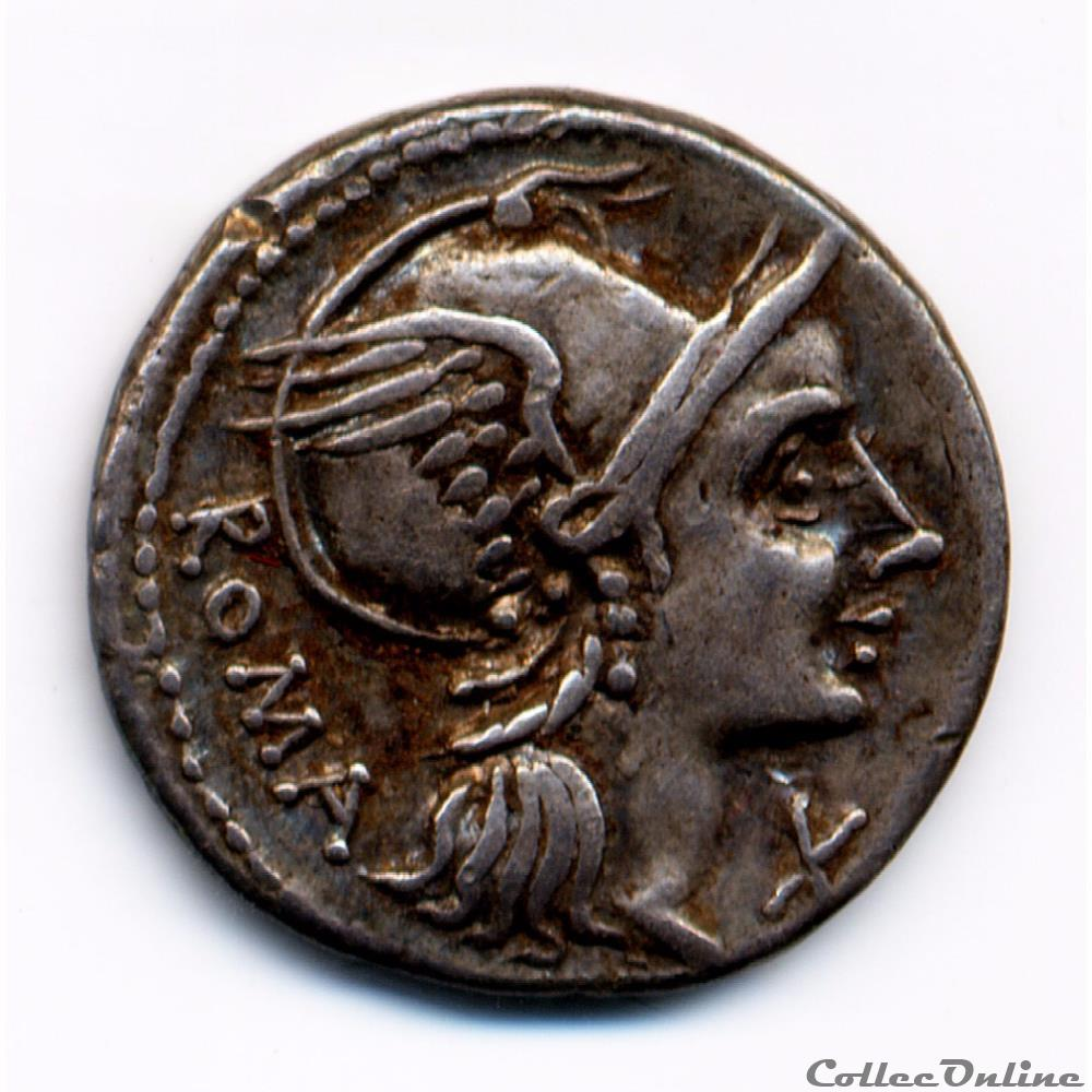 monnaie antique romaine l flaminius cilo