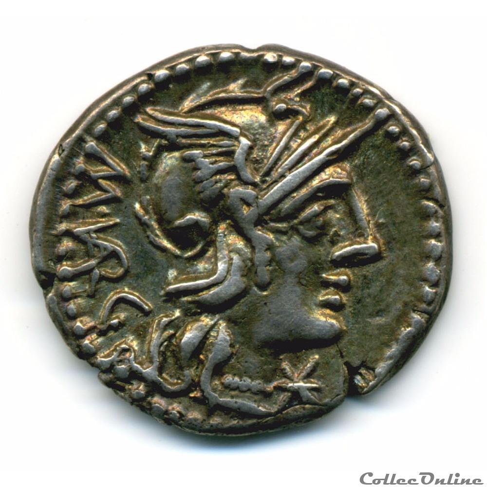 monnaie antique romaine marcus vargunteius