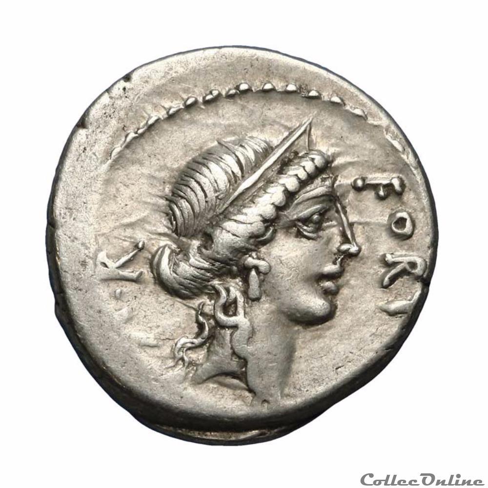 monnaie antique romaine quintus sicinius triumvir