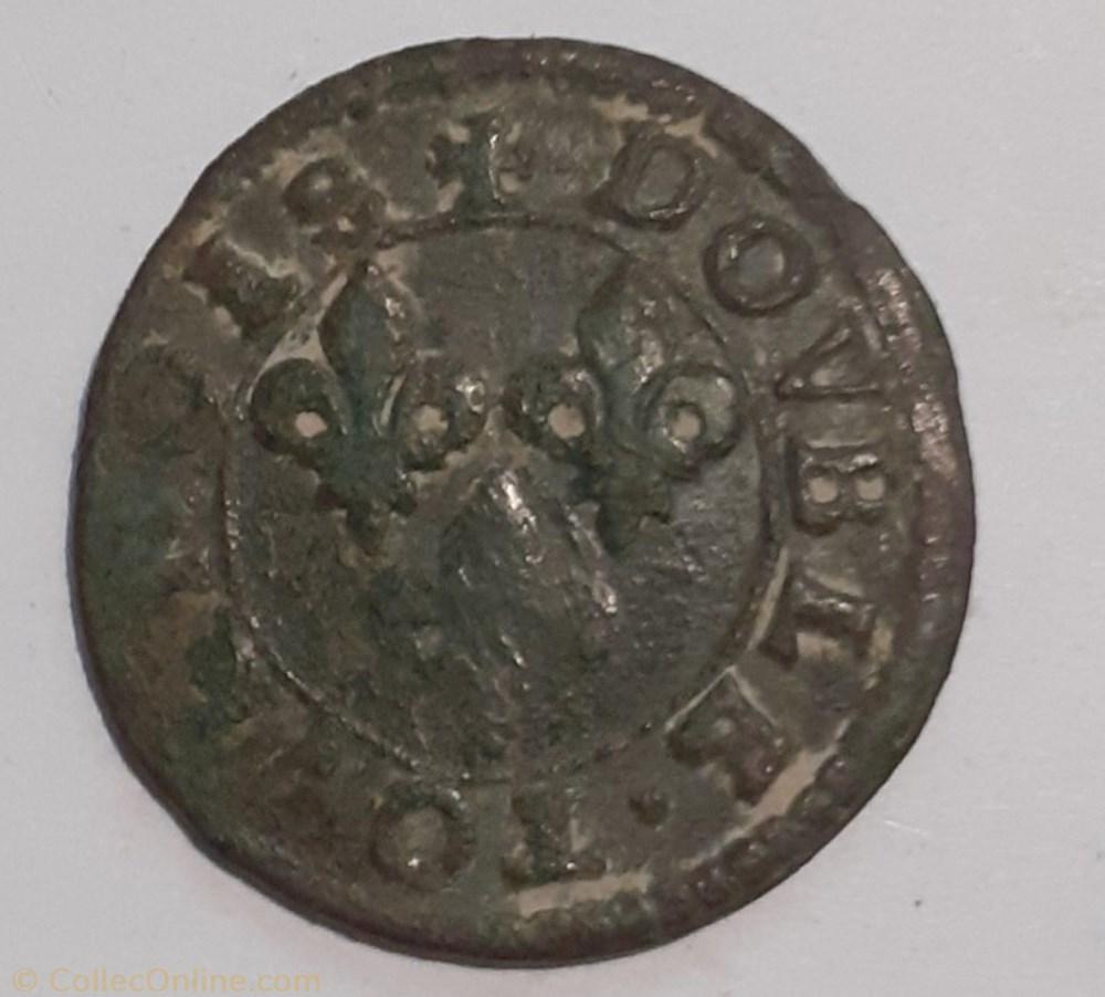 monnaie france feodale francois de bourbon conti tytpe 18