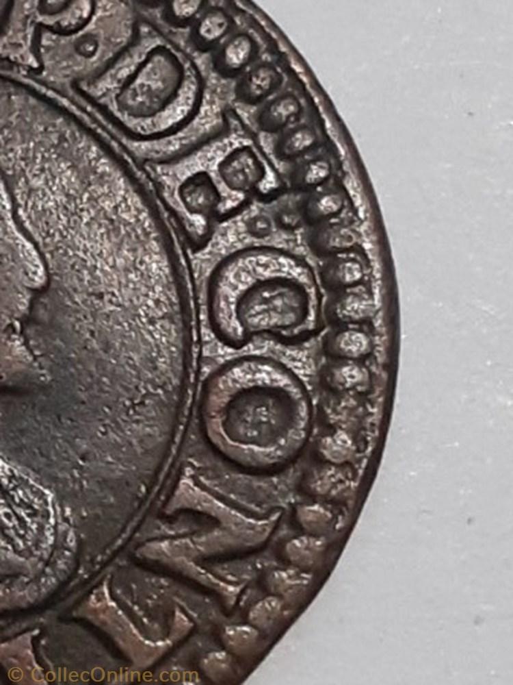 monnaie france feodale francois de bourbon conti type 18