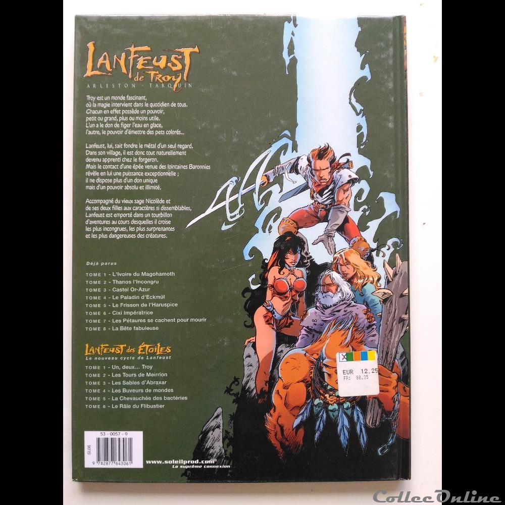 Lanfeust De Troy Tome 2 Thanos L Incongru Books Comics