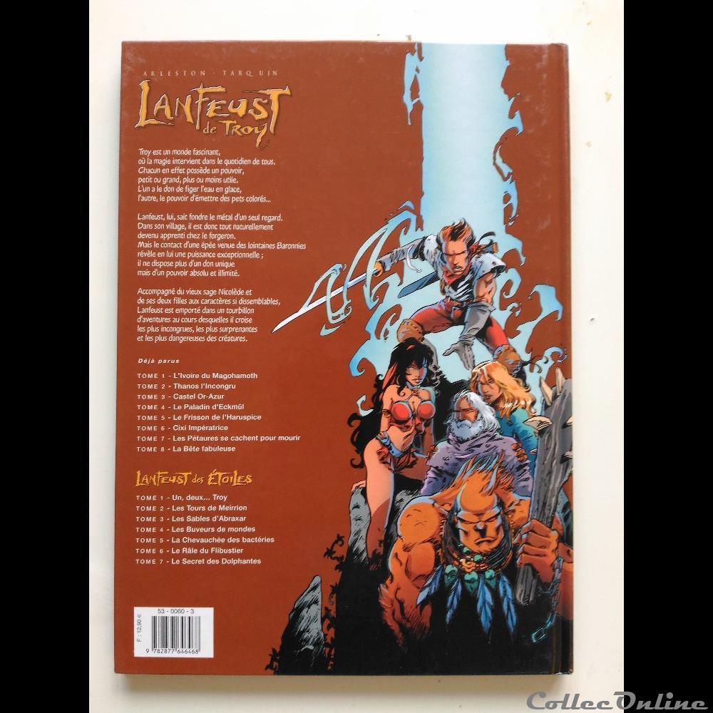 Lanfeust De Troy Tome 5 Le Frisson De L Haruspice Books