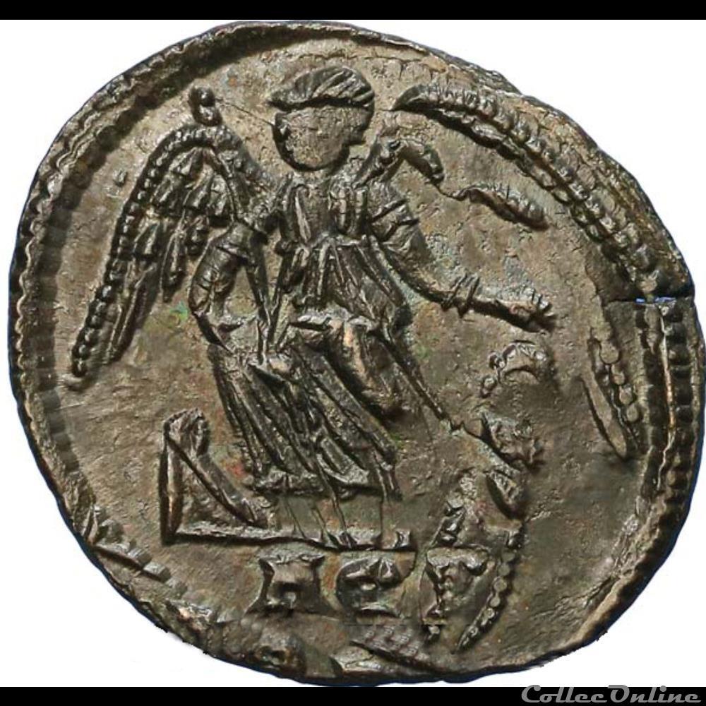 monnaie antique romaine constantinople centenionalis ou nummus