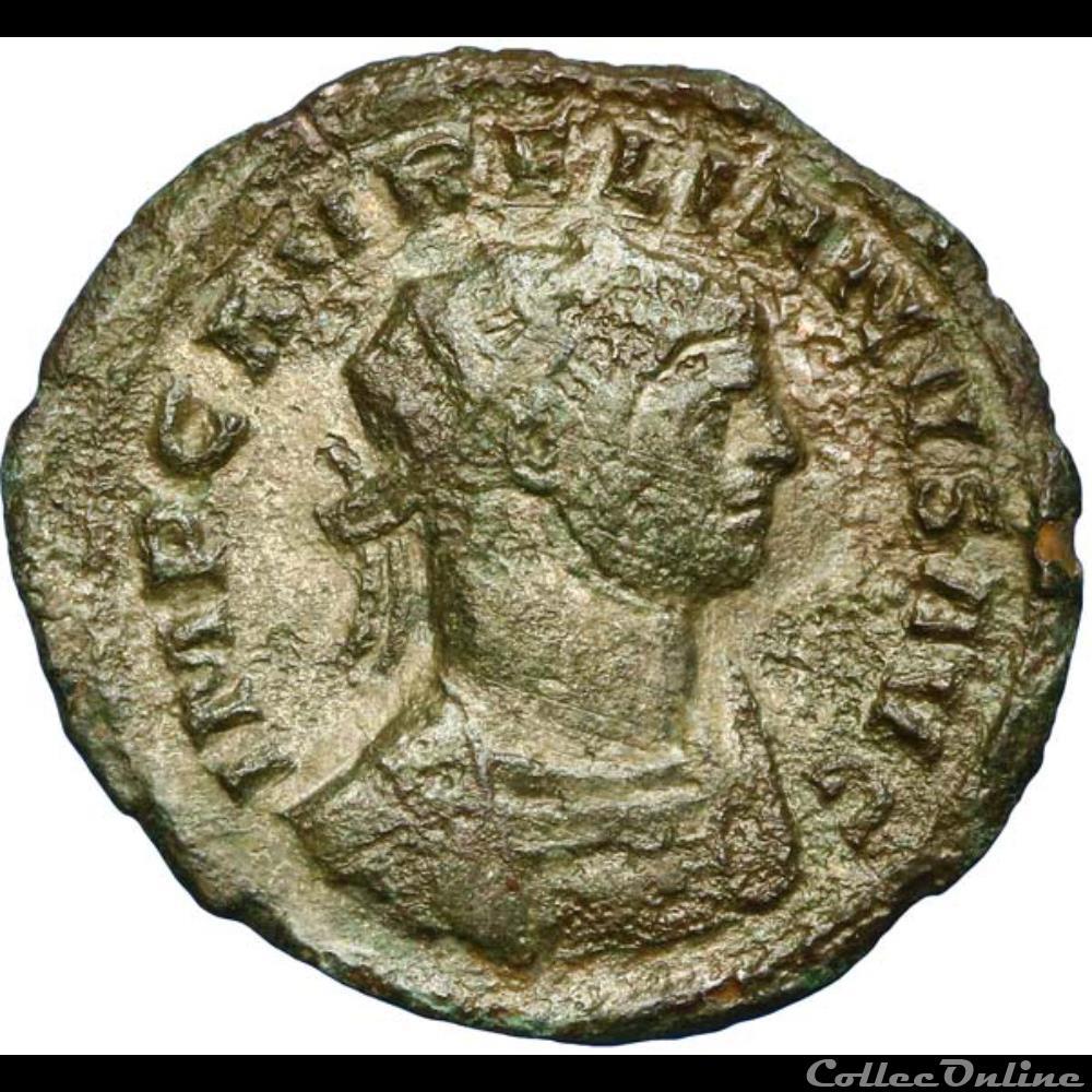 monnaie antique romaine aurelien aurelianus