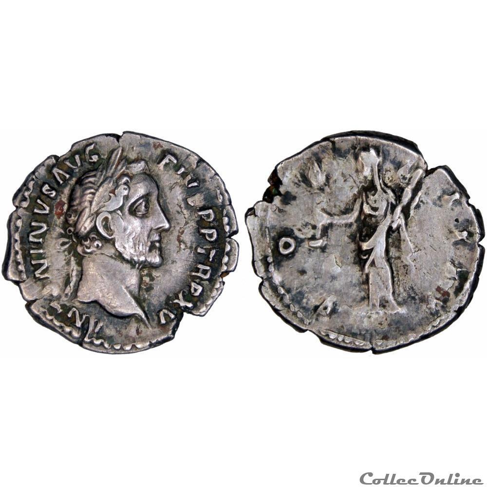 monnaie antique romaine 4 0203 antoninus pius denarius vesta