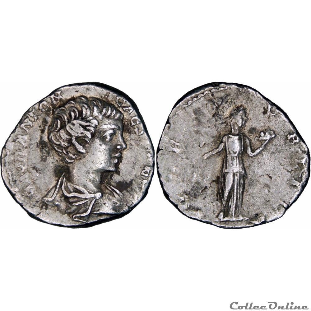 monnaie antique romaine 6 008 caracalla denarius fides