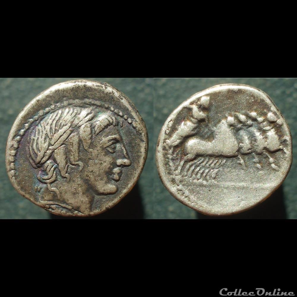 monnaie antique romaine vergilia denier