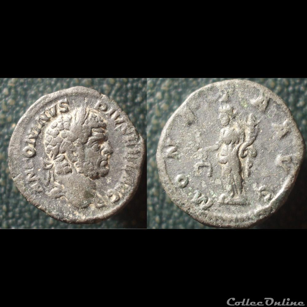 monnaie antique romaine caracalla denier moneta