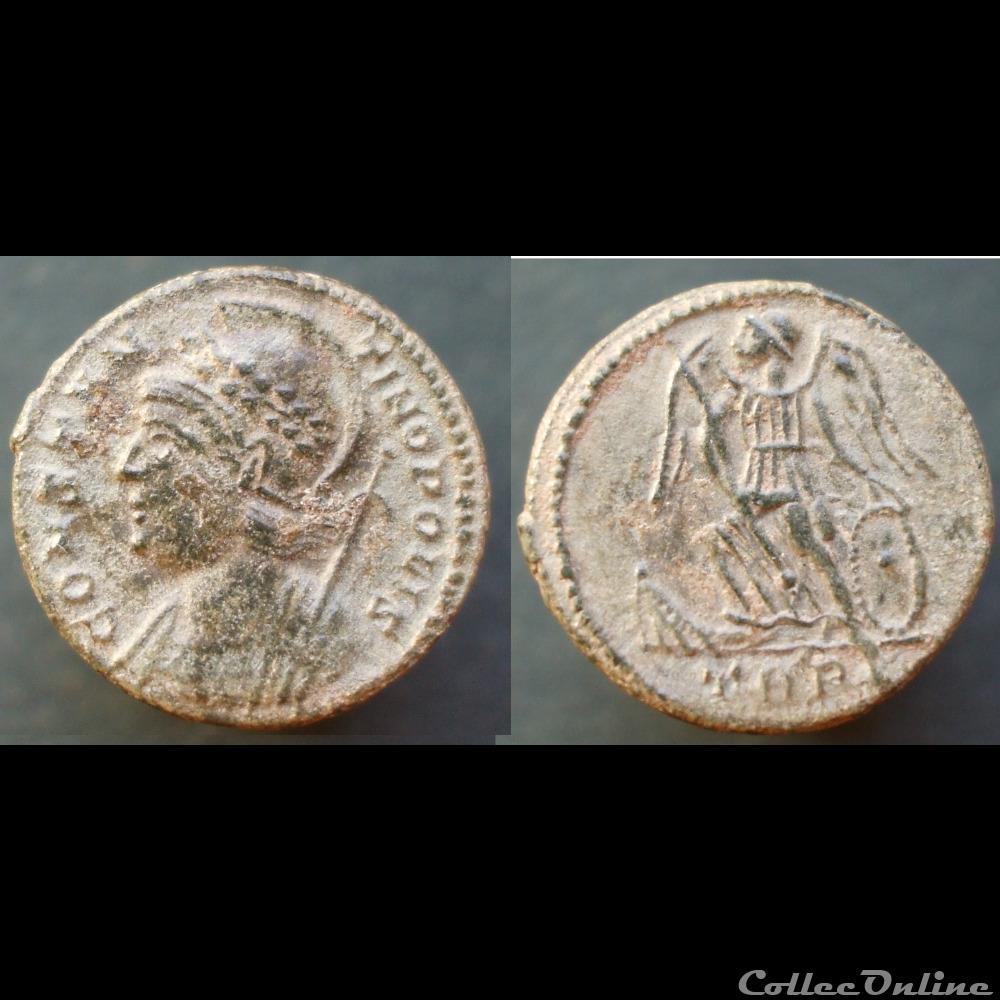 monnaie antique romaine constantinopolis treves