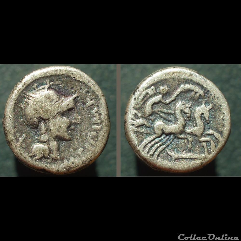 monnaie antique romaine cipia denier