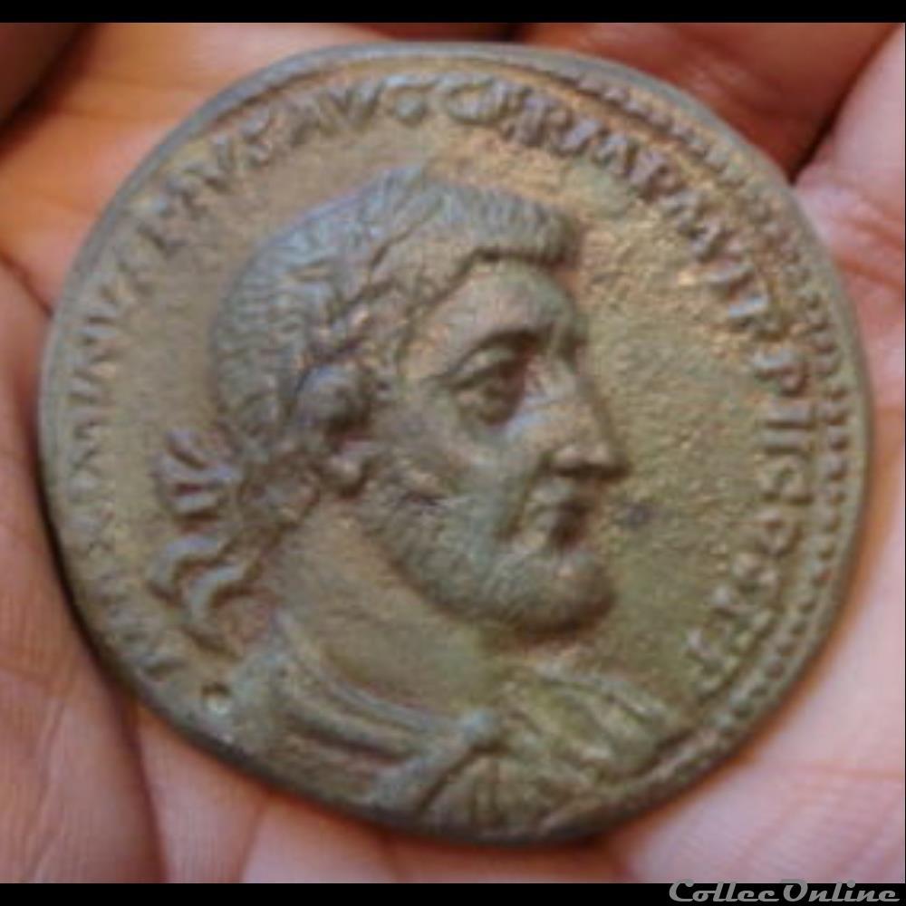 monnaie antique romaine maximin ier medaillon