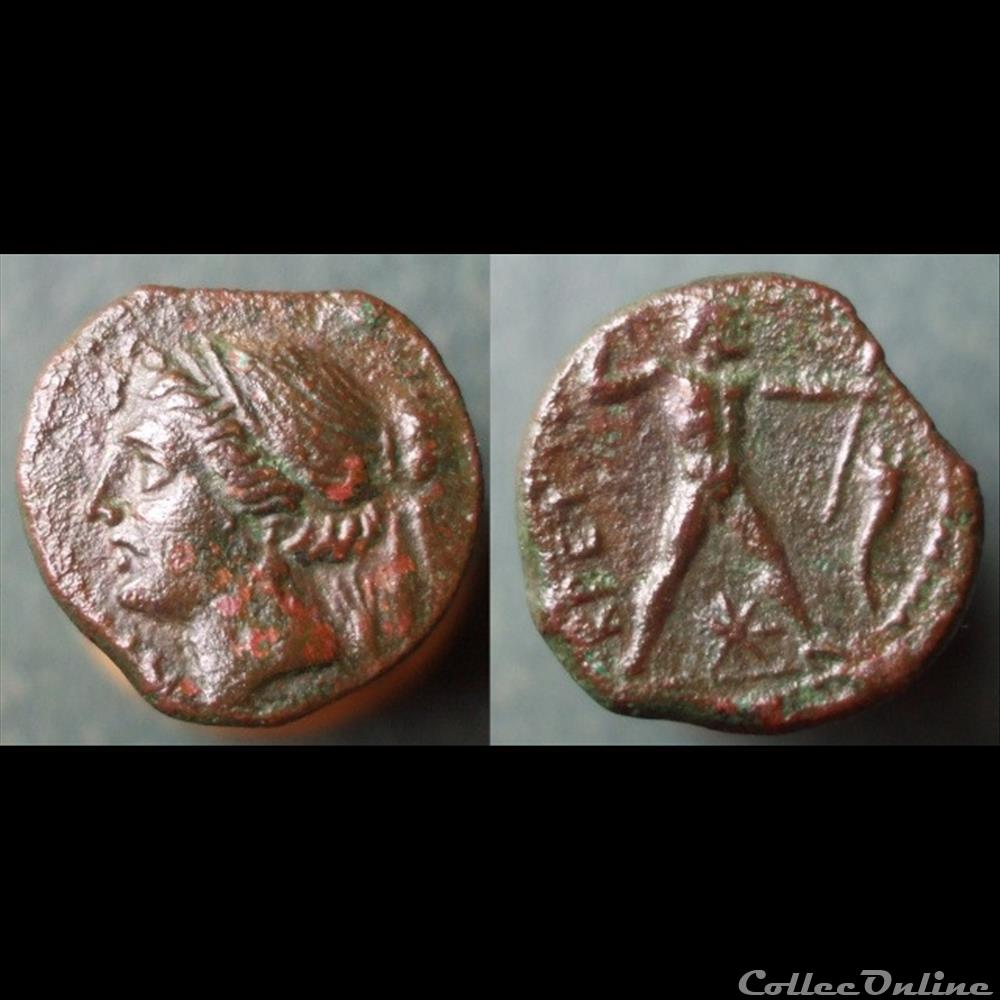 monnaie antique grecque hellenistique bruttium
