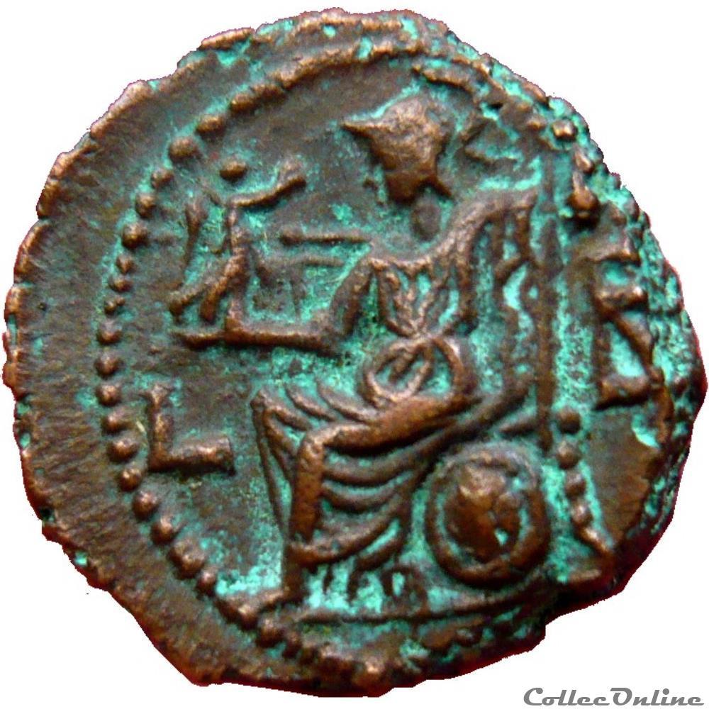 monnaie antique romaine provinciale tetradrachme numerien an 2 alexandrie egypte milne 4699
