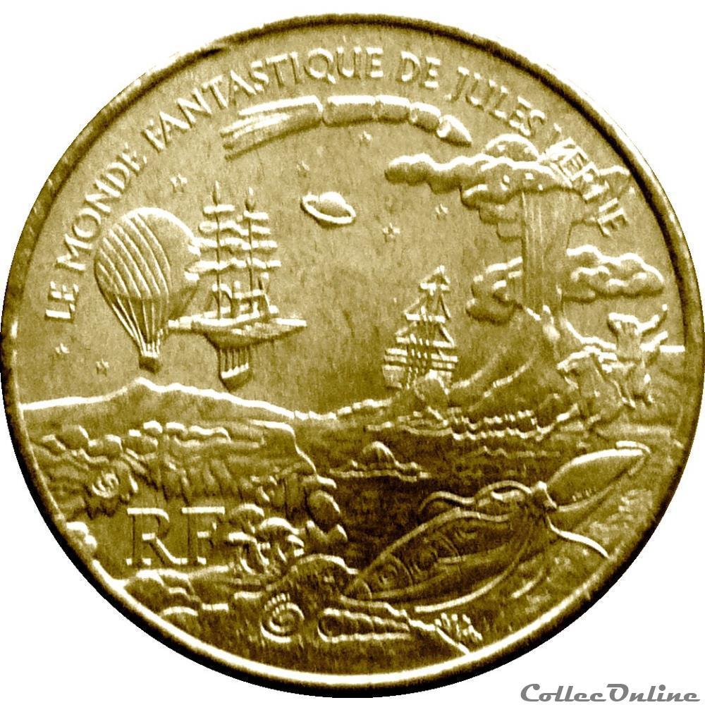 monnaie antique romaine france 1 4 euro jules verne le monde fantastique 2005 00025410501 1