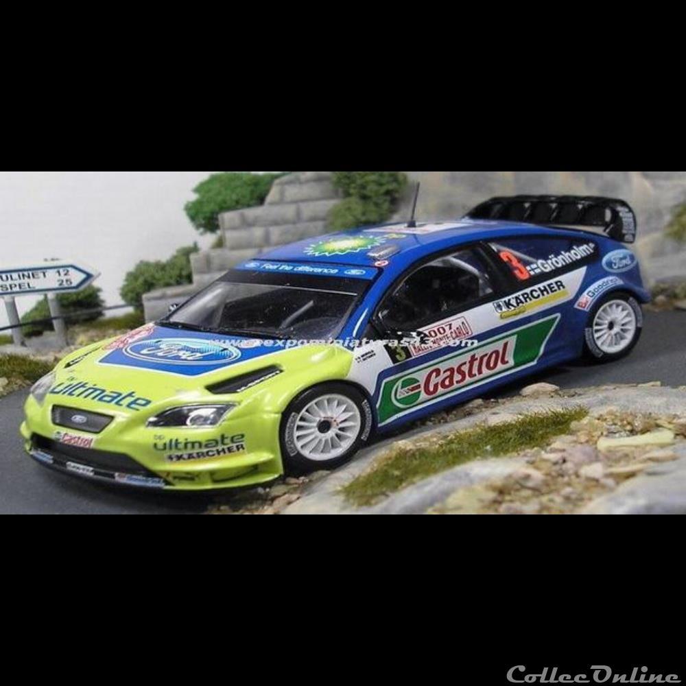 FORD FOCUS WRC RALLY MONTE CARLO 2007 GRONHOLM ALTAYA IXO 1//43