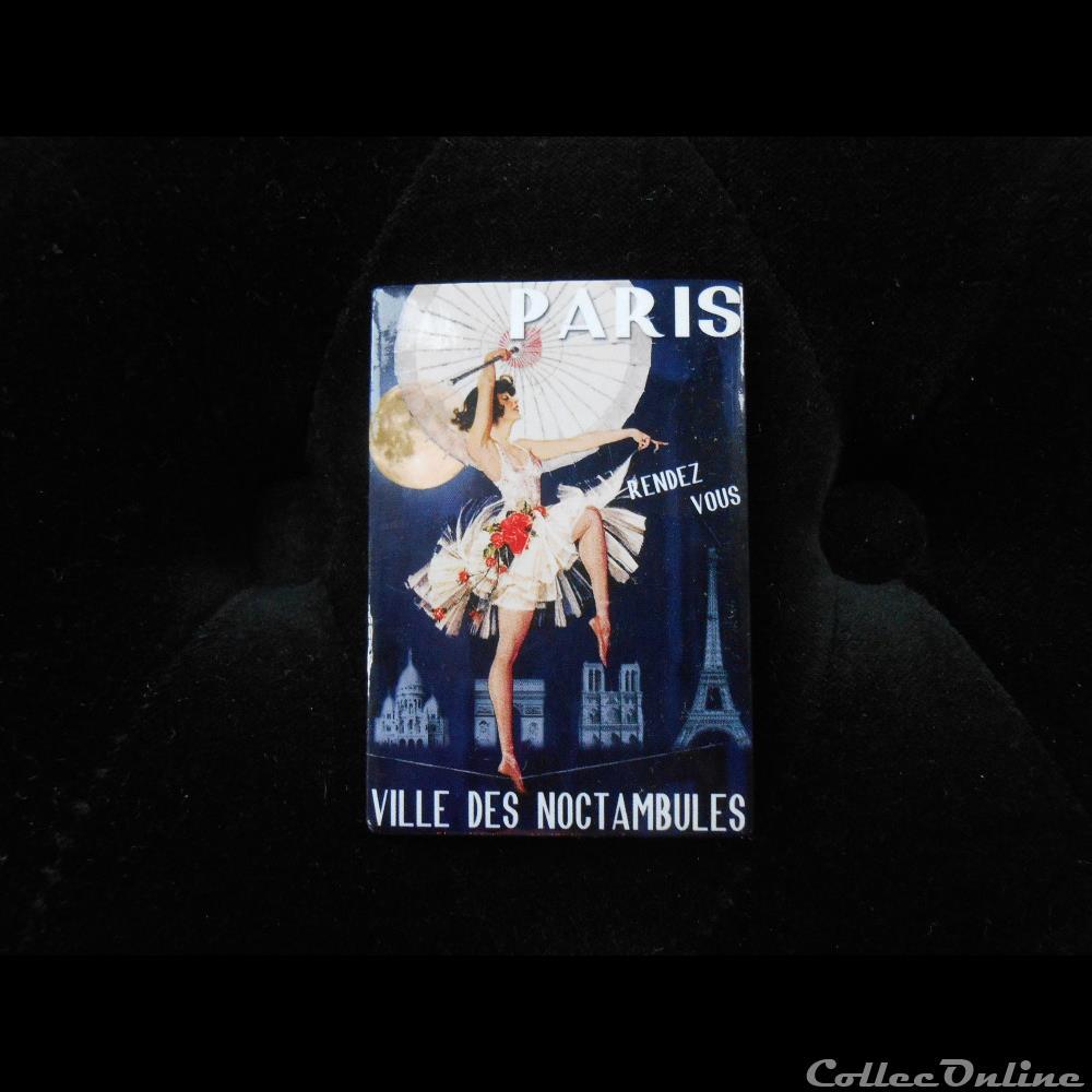 decoration magnet autocollant paris ville des noctambules