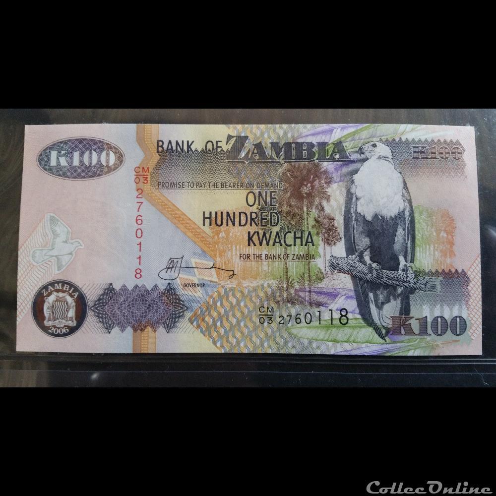 billet france angola 100 kwacha 2006