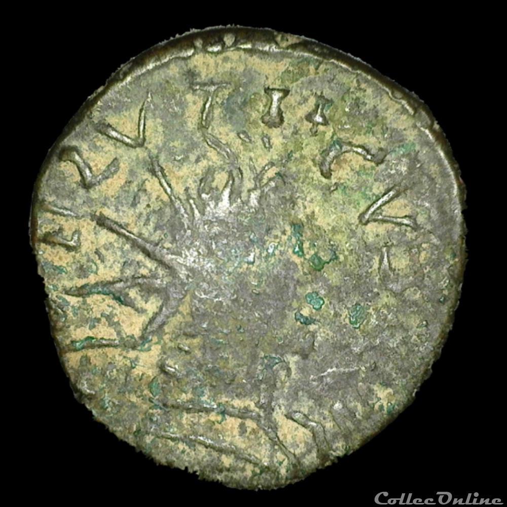 monnaie antique av jc a ap romaine biche cerf