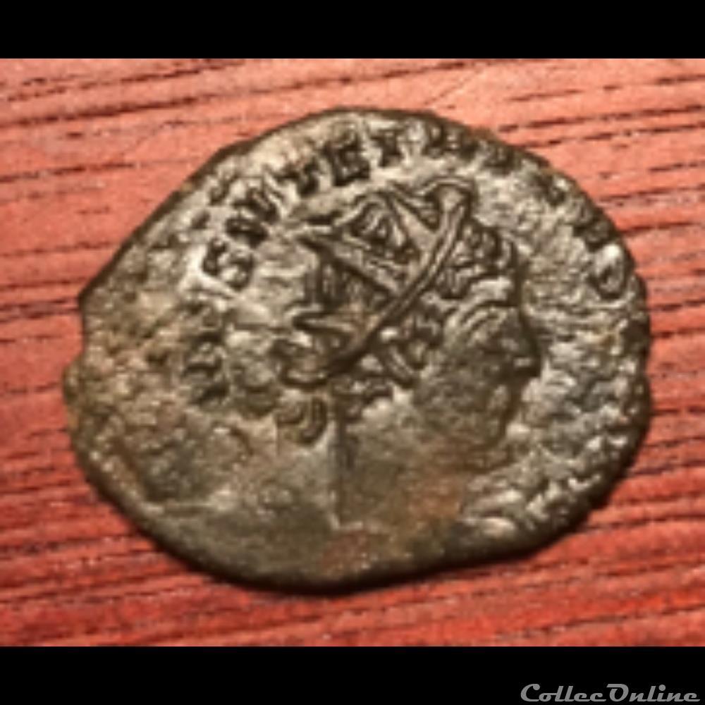monnaie antique av jc ap romaine laetitia